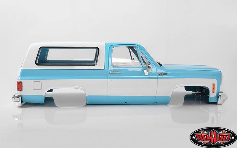 RC4WD Chevrolet Blazer Colored Hard Body Sets (3)