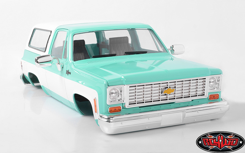 RC4WD Chevrolet Blazer Colored Hard Body Sets (4)