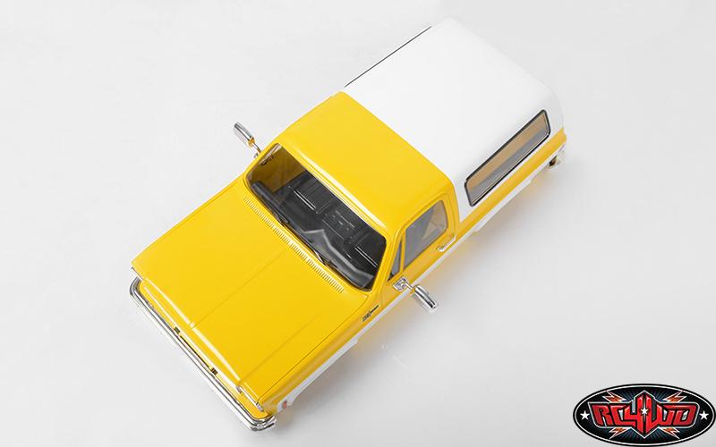 RC4WD Chevrolet Blazer Colored Hard Body Sets (6)