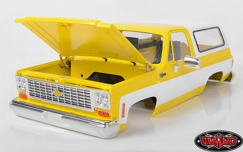 RC4WD Chevrolet Blazer Colored Hard Body Sets (7)