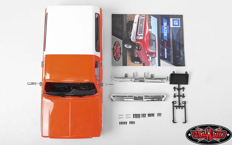 RC4WD Chevrolet Blazer Colored Hard Body Sets (9)