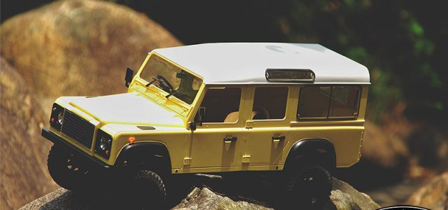"RC4WD RTR Gelande II ""LWB"" With D110 Body Set"