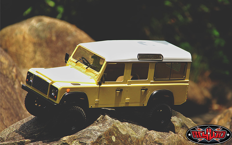 RC4WD RTR Gelande II LWB With D110 Body Set (1)