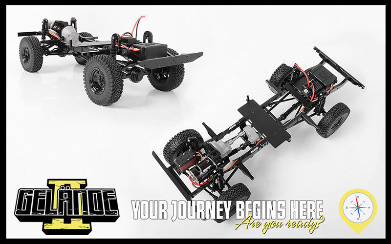 RC4WD RTR Gelande II LWB With D110 Body Set (2)