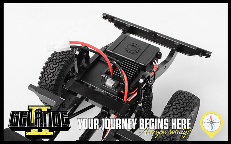 RC4WD RTR Gelande II LWB With D110 Body Set (4)