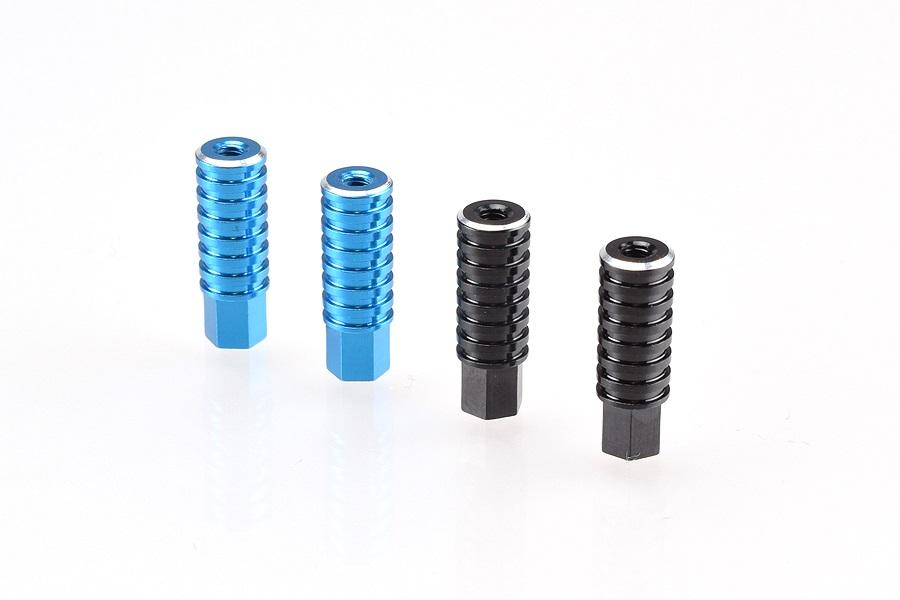 RDRP B64 Aluminium Battery Posts & Thumb Nut (1)