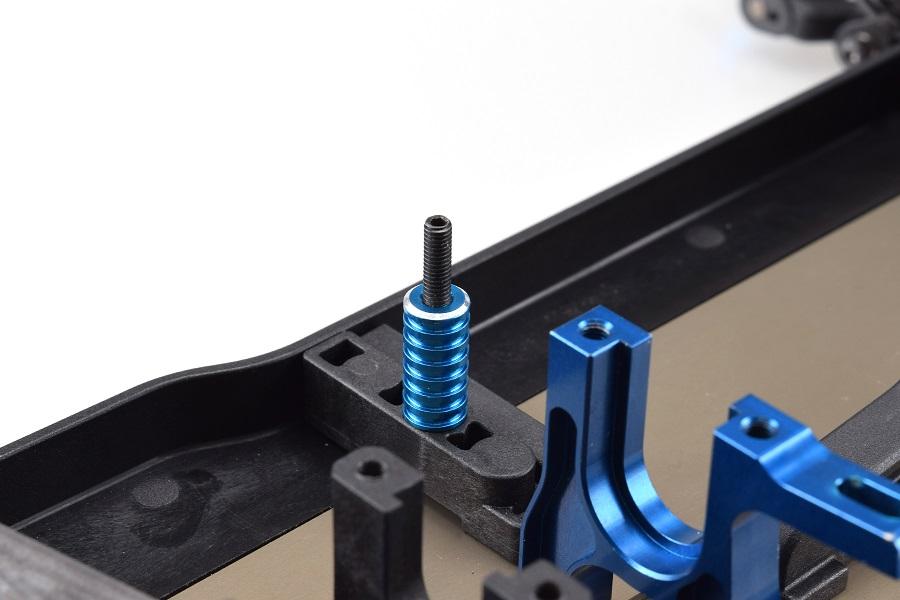 RDRP B64 Aluminium Battery Posts & Thumb Nut (7)