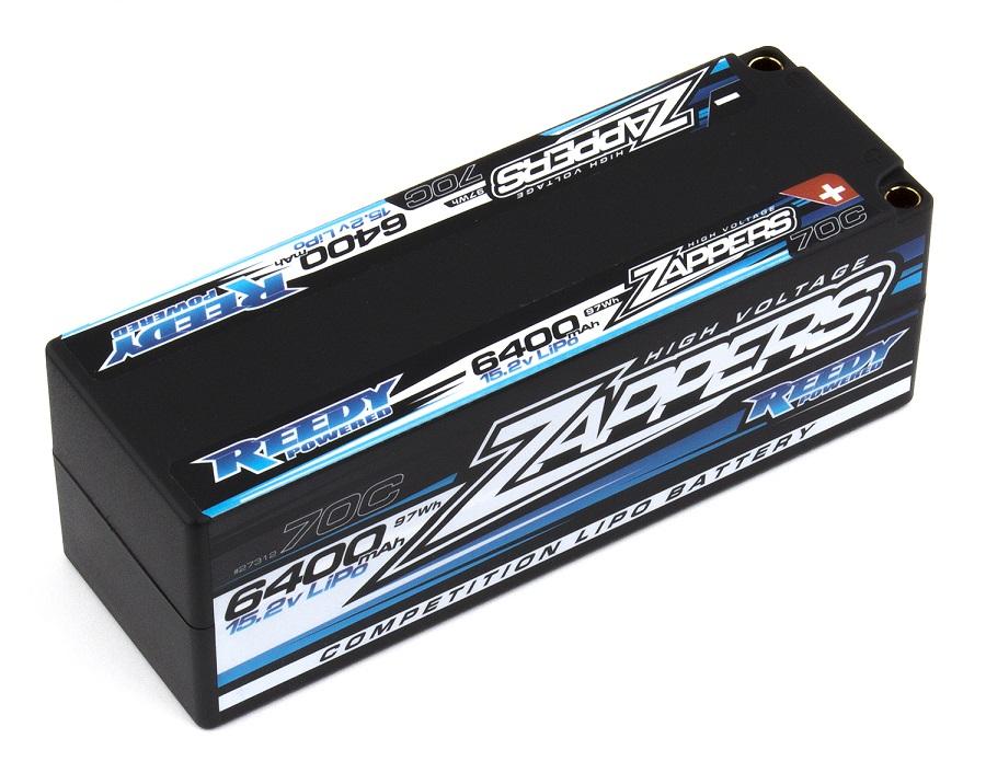 Reedy Zappers 6400mAh 70C 15.2V 4S LiPo Pack (1)