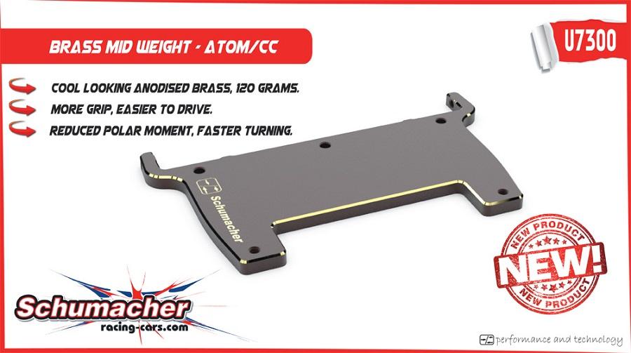 Schumacher Atom GT12 Brass Mid Weight (2)