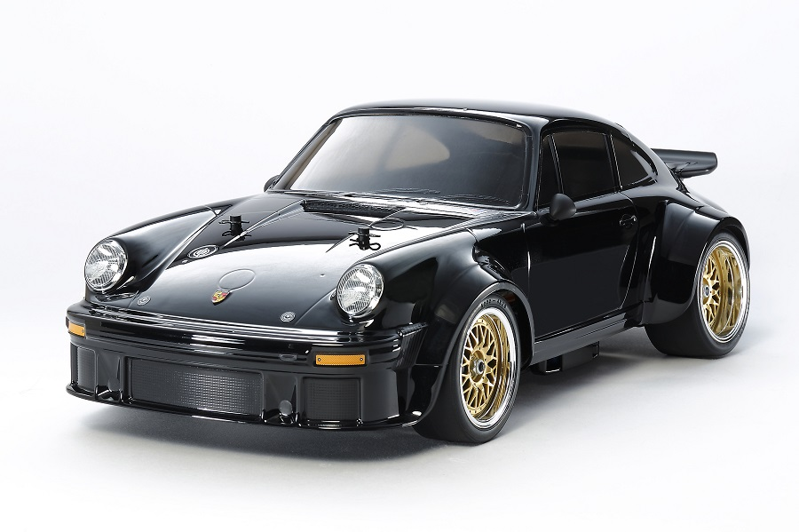 Tamiya Black Edition Porsche Turbo Rsr Type 934 Ta02sw Rc Car Action