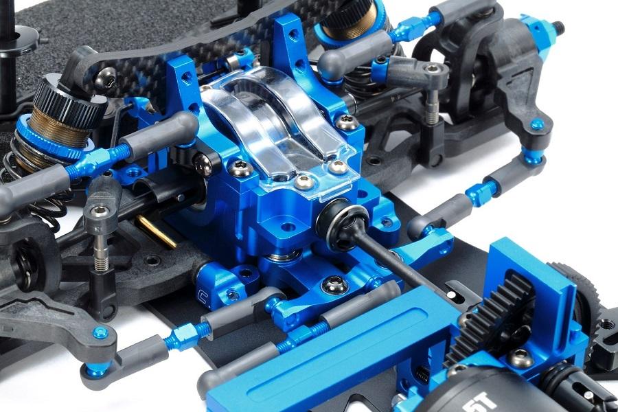 Tamiya TB EVO 7 Chassis Kit (4)