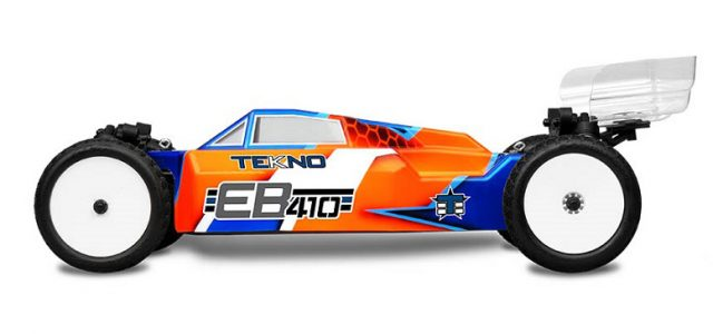Tekno EB410 4WD Buggy Takes On 1/10 Scale [TEASER]