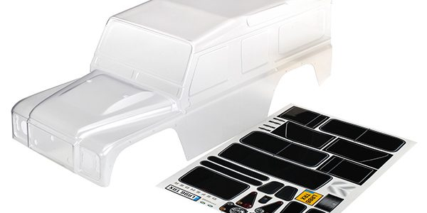 Traxxas Pre-Painted And Clear TRX-4 Bodies