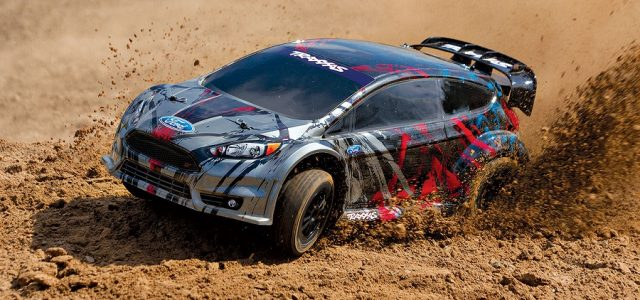 Traxxas RTR 1/10 Ford Fiesta ST Rally [VIDEO]