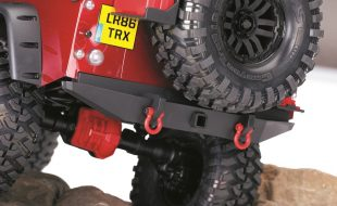 Traxxas TRX-4 Red Accessories