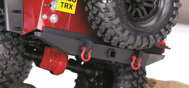 Traxxas TRX-4 Red Accessories