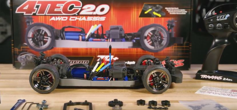 Unboxing the 70+ MPH Traxxas 4-Tec 2.0