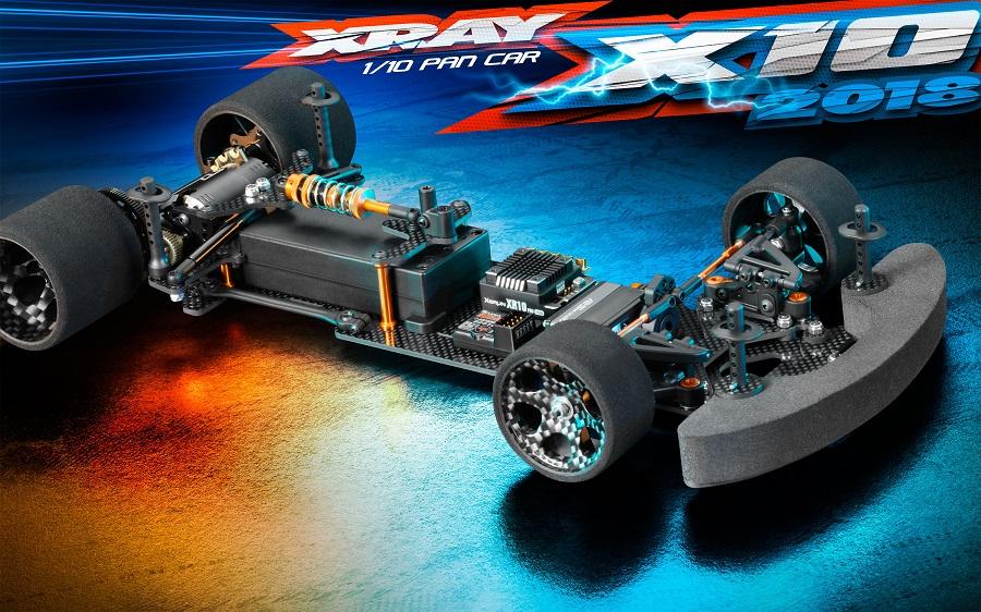 XRAY X10 '18 200mm Pan Car Kit (1)