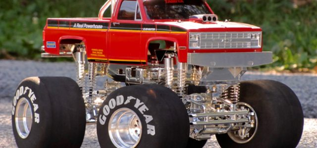 Tamiya Clod Buster Gets Chromed Out [READER'S RIDE]