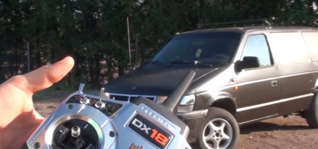 Watch This Full-Size RC Minivan In Action [VIDEO]