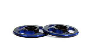 Avid Dual Color Triad Wing Buttons
