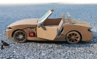 This Custom Cardboard BMW Z4 is Full RC [VIDEO]