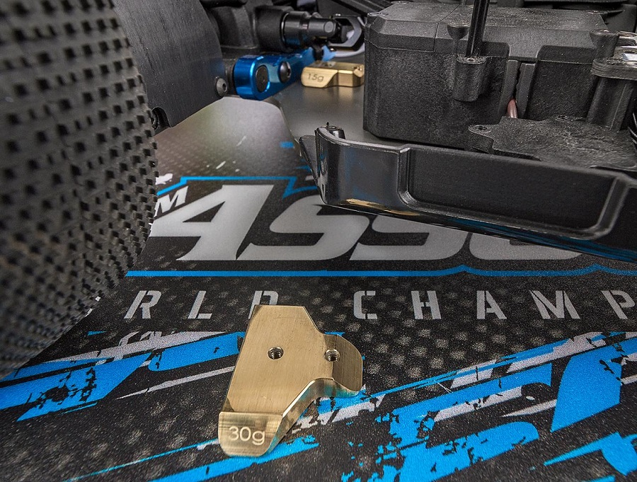 Factory Team Chassis Weights For The RC8B3.1 And B3.1e (1)