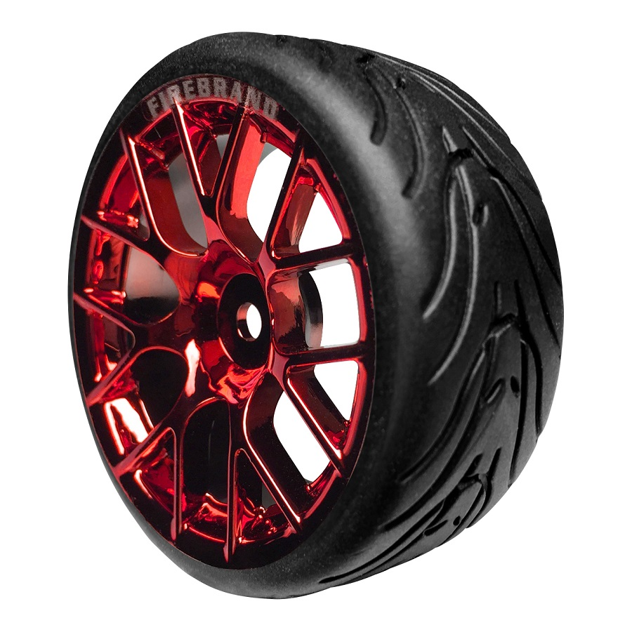 FireBrand RC HyperNova-RT On-Road Wheels & Fang Tires (2)