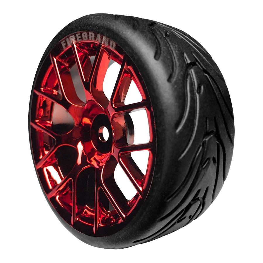 FireBrand RC HyperNova-RT On-Road Wheels & Fang Tires (2)