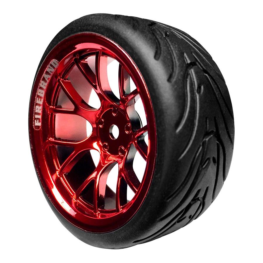 FireBrand RC HyperNova-RT On-Road Wheels & Fang Tires (3)
