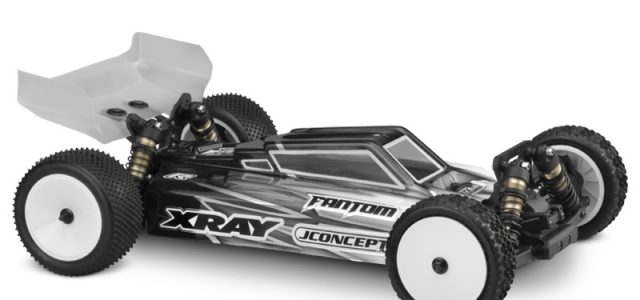 JConcepts F2 Body For The 2017 XRAY XB4