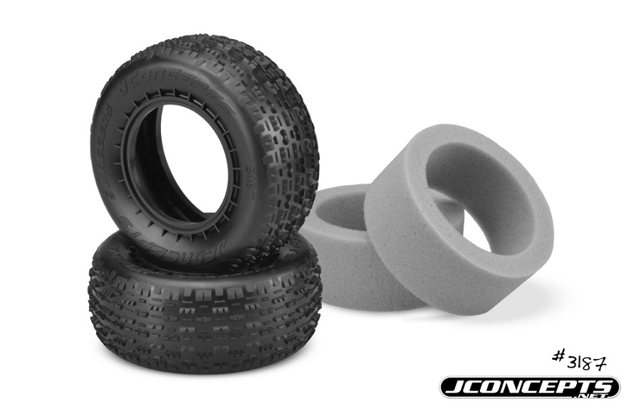 JConcepts Swaggers & Pin Downs Short Course Tires (1)