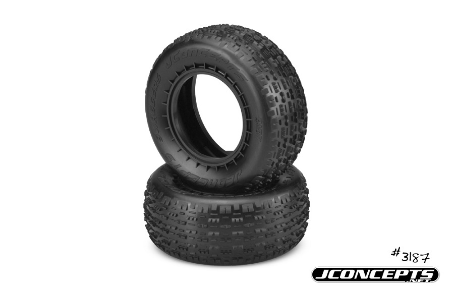 JConcepts Swaggers & Pin Downs Short Course Tires (2)