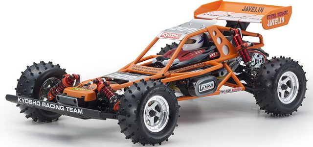 Kyosho Javelin 4wd Buggy Kit Re-Release [VIDEO]
