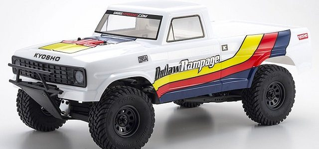 Kyosho Outlaw Rampage 2wd Truck ReadySet [VIDEO]