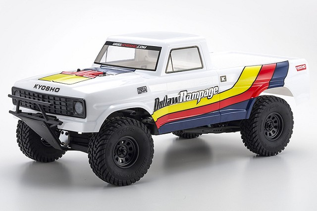 Kyosho ReadySet Outlaw Rampage 2wd Truck (1)