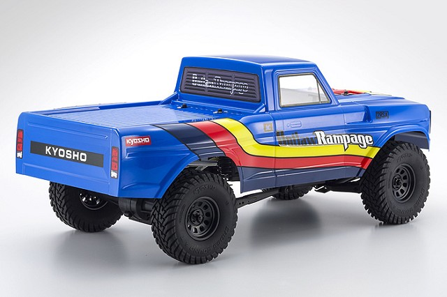 Kyosho ReadySet Outlaw Rampage 2wd Truck (4)