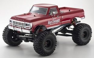 Kyosho Readyset 4WD Mad Crusher Nitro Monster Truck