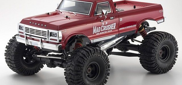 Kyosho Readyset 4WD Mad Crusher Nitro Monster Truck