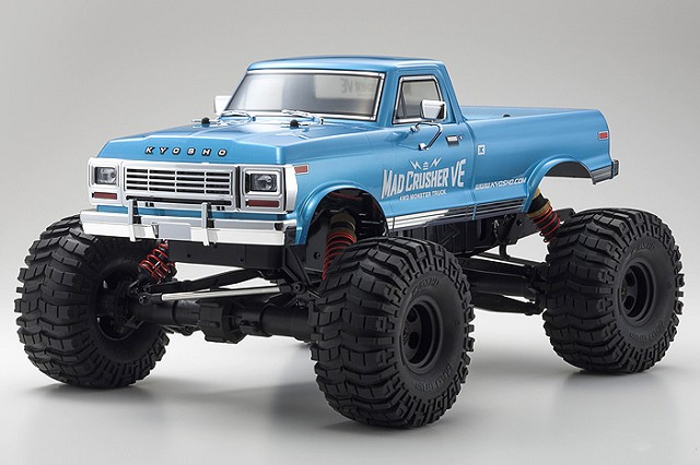 Kyosho Readyset 4WD Mad Crusher VE Monster Truck (1)