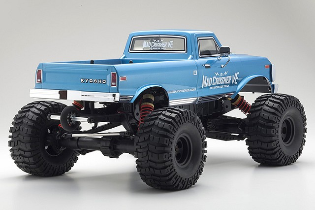 Kyosho Readyset 4WD Mad Crusher VE Monster Truck (2)