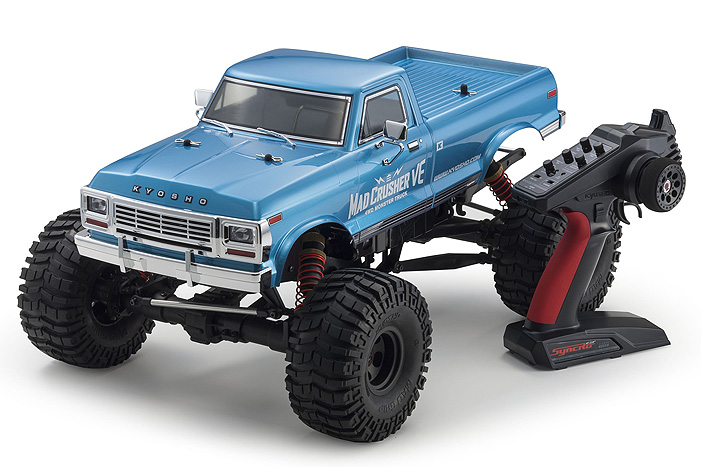 Kyosho Readyset 4WD Mad Crusher VE Monster Truck (4)
