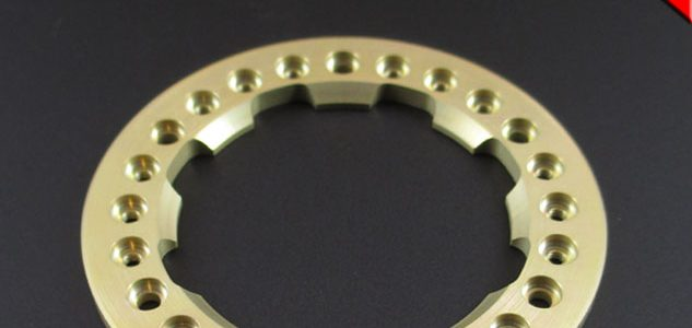 Locked Up RC 1.9″ Demon Golden Chromate Bead Lock Ring