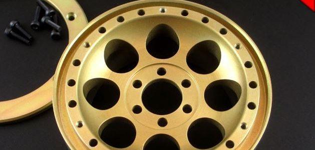 Locked Up RC 2.2″ Iconic SLW Golden Chromate Wheels