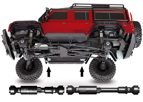 MIP HD Driveline Kit For The Traxxas TRX-4 Defender (5)