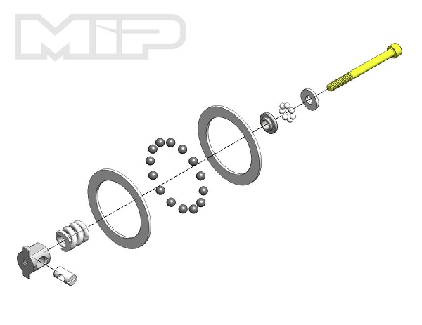 MIP Super Diff Carbide Rebuild Kit For All AE 110 Vehicles