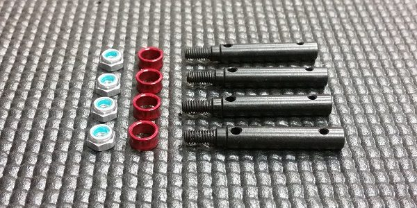 MIP Wide Track Kit (4mm Offset) For The Traxxas TRX-4
