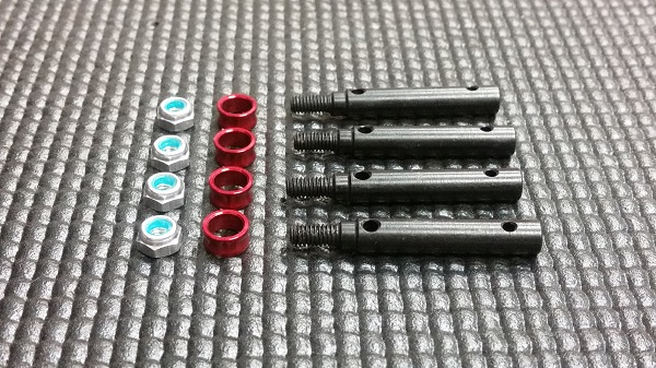 MIP Wide Track Kit (4mm Offset) For The Traxxas TRX-4 (1)