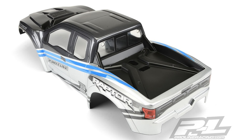 Pro-Line Pre-Painted & Cut 2017 Ford F-150 Raptor Body (2)