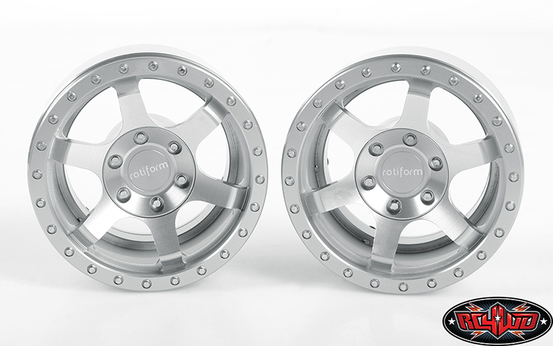 RC4WD Rotiform Six-OR 2.2 Beadlock Wheels (3)